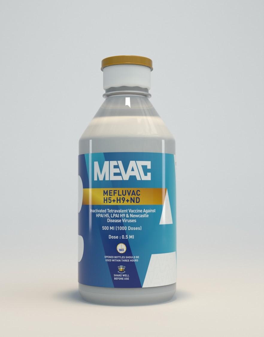MEFLUVAC H5 + H9 + ND7